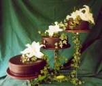 cascading cake stand