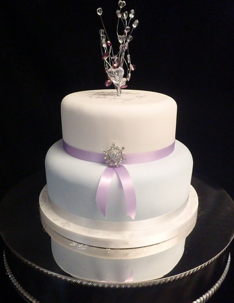 blue white and lilac with sparkle