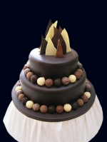 truffles and shards cake